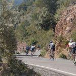marcha cicloturista descenso puerto montaña